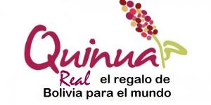 LOGO quinoa real el regalo de Bolivia